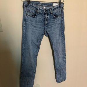 Rag & Bone skinny high waisted jean